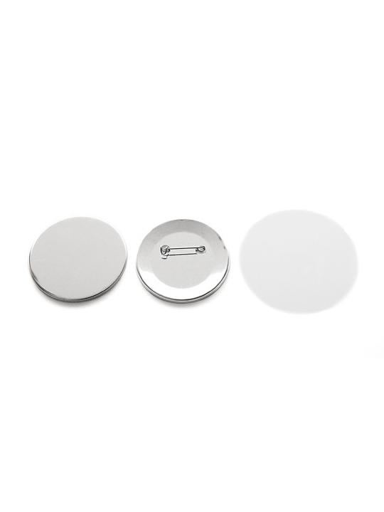 Bottoni personalizzabili 59mm - kit 100 pezzi