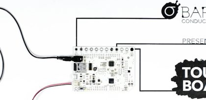 Come usare la Touch Board di Bare Conductive: esempi pratici