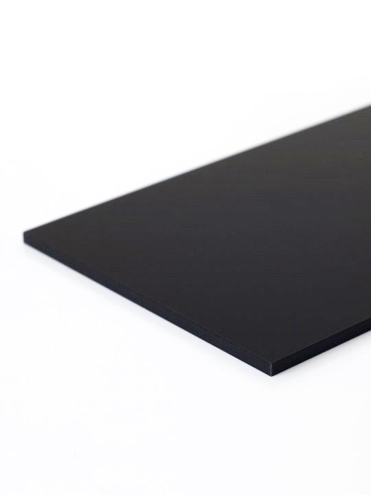 PMMA nero plexiglass nero