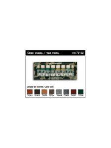 Vallejo Panzer Aces Set 1 - Contiene 8 Colori: Ruggine Gomma Cingoli Luci