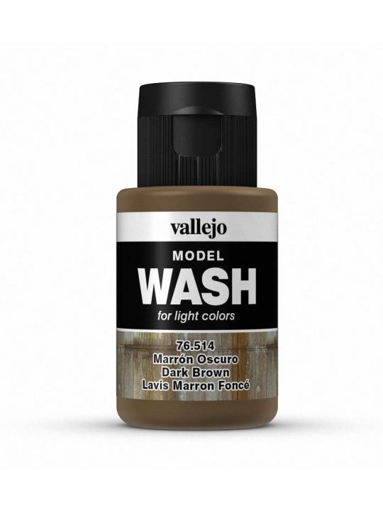 Vallejo Model Wash Dark Brown