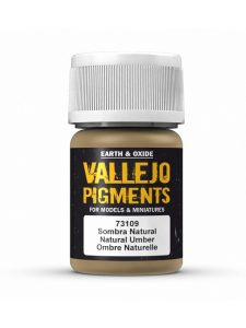 Vallejo Pigmenti Natural Umber