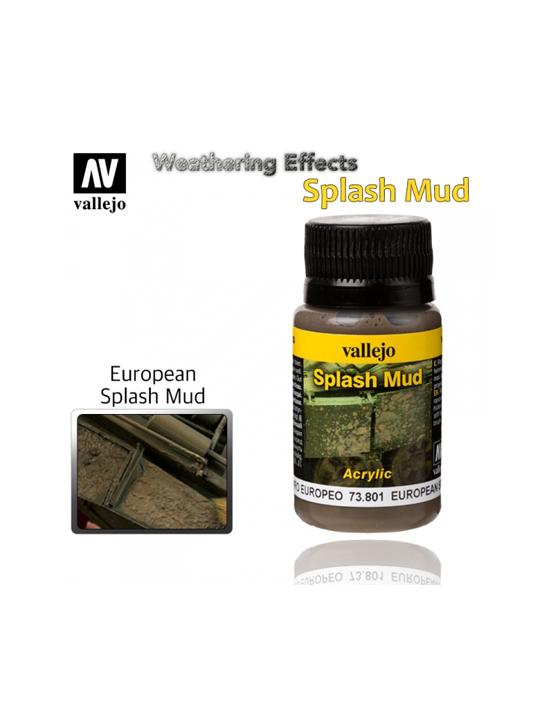 Vallejo Weathering Effects European Splash Mud