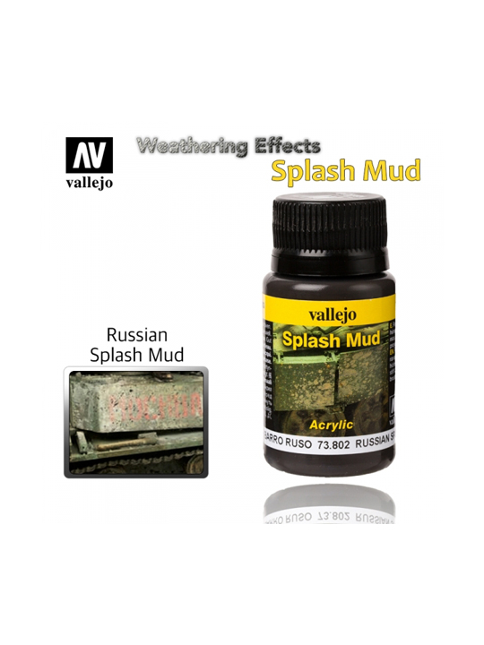 Vallejo Weathering Effects Russian Splash Mud