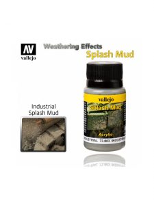 Vallejo Weathering Effects Industrial Splash Mud