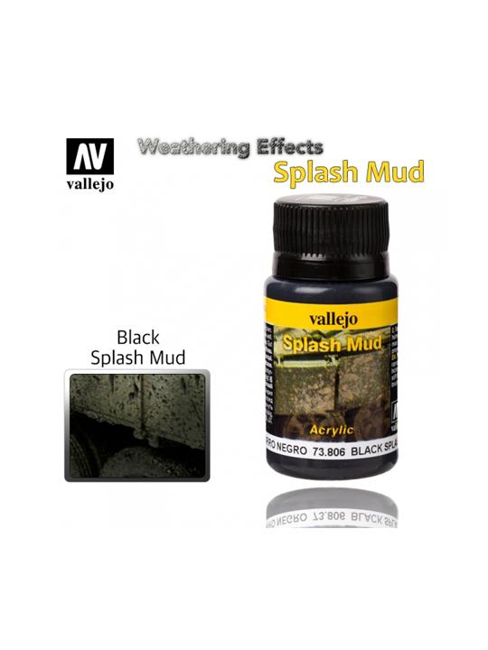 Vallejo Weathering Effects Black Splash Mud