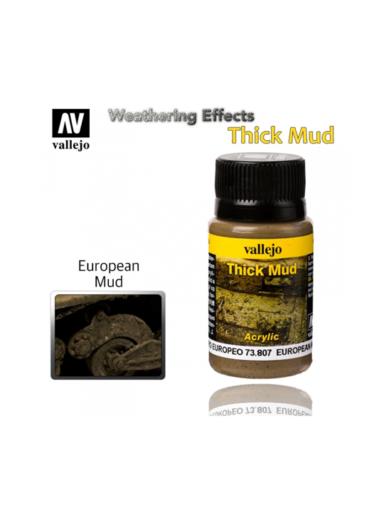 Vallejo Weathering Effects European Thick Mud