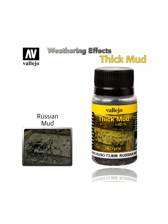Vallejo Weathering Effects Russian Thick Mud