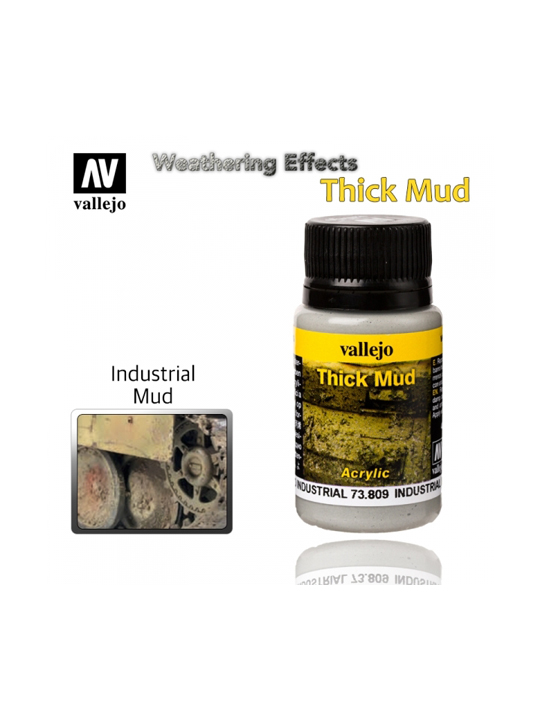 Vallejo Weathering Effects Industrial Thick Mud