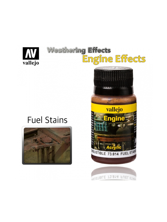 Vallejo Weathering Effects Fuel Stains