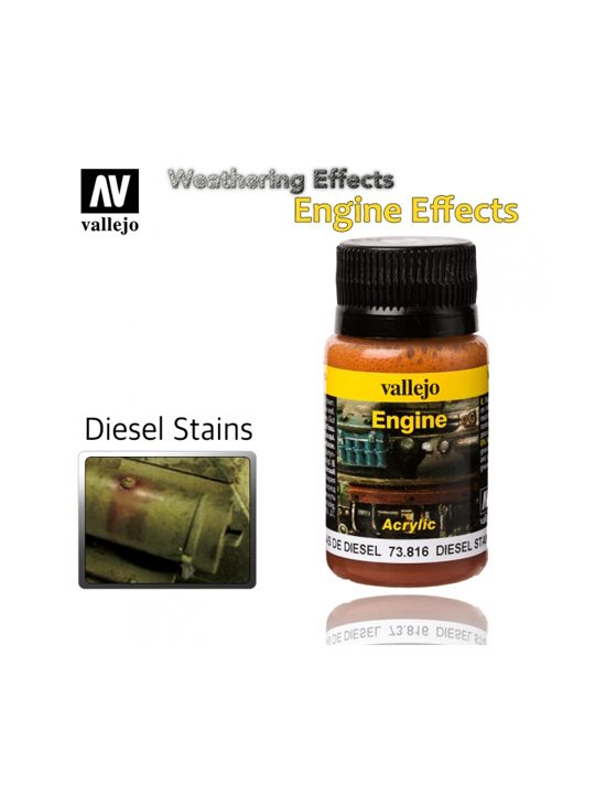 Vallejo Weathering Effects Diesel Stains