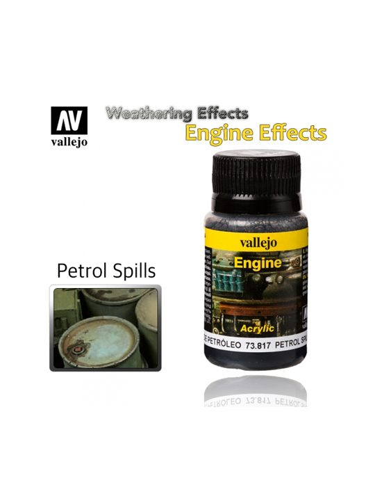 Vallejo Weathering Effects Patrol Spills