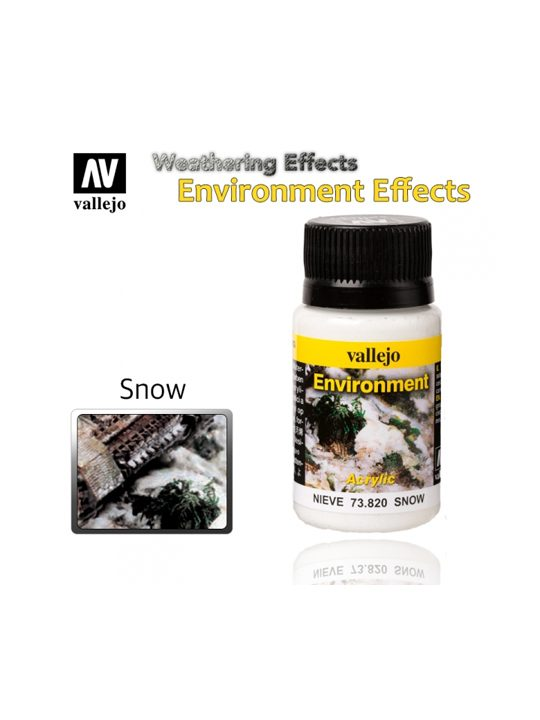 Vallejo Weathering Effects Snow