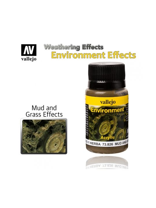 Vallejo Weathering Effects Mud And Grass Effect