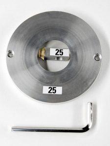Adattatore da 25mm per taglierina circolare in metallo
